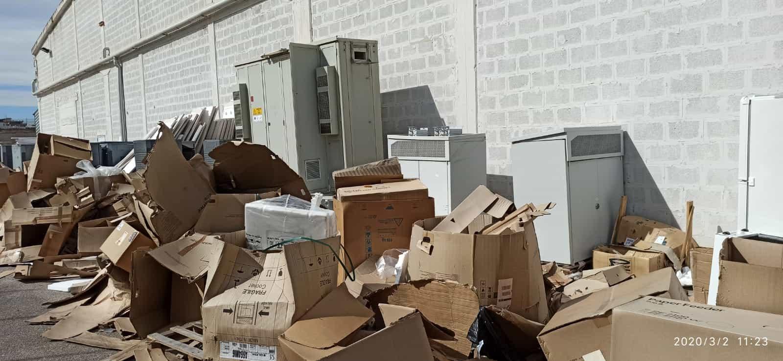 Aziende Monopoli Zona Industriale bari, sequestrata area rifiuti in zona industriale