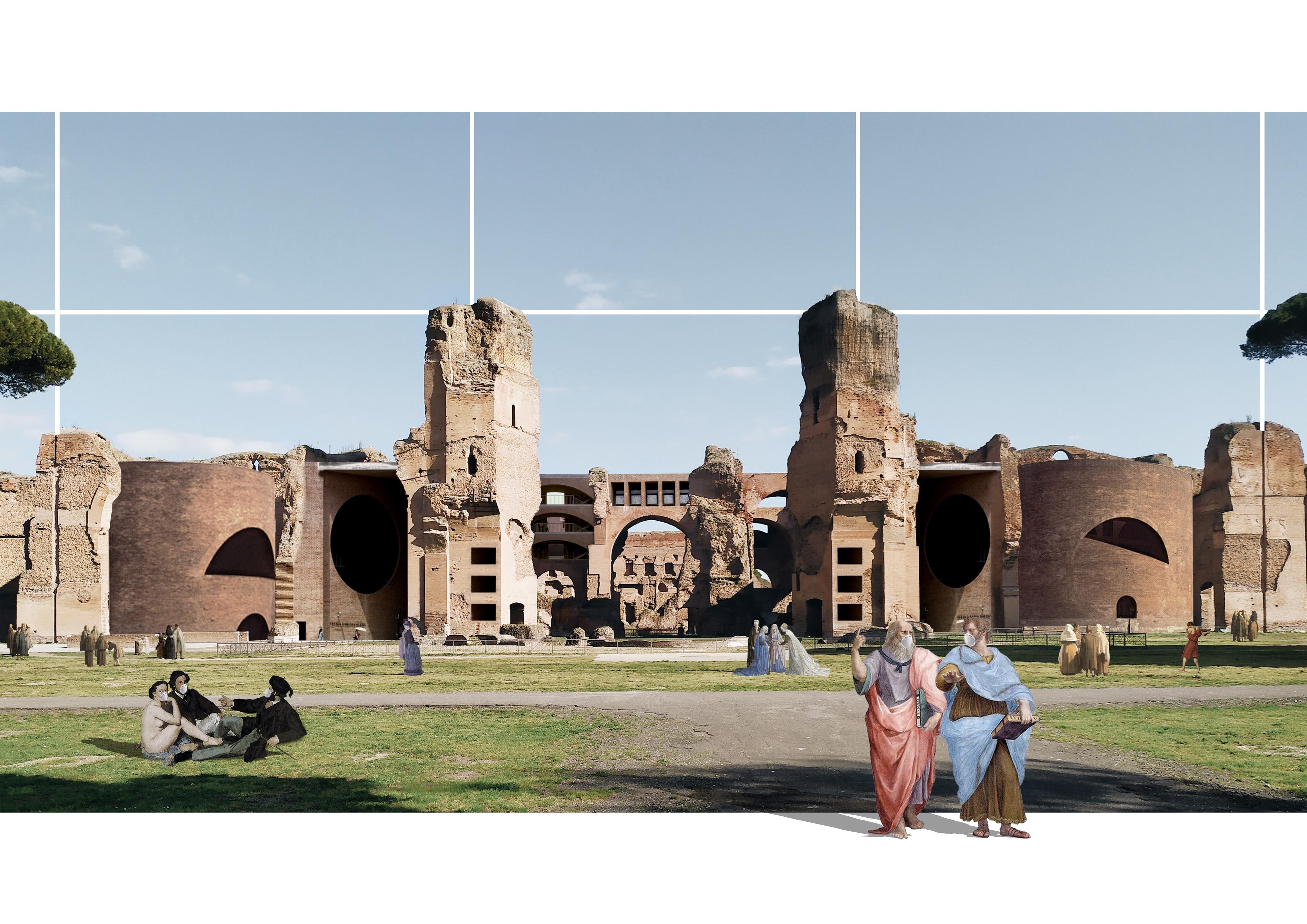 Architetti Famosi Lecce i collage di due architetti baresi a supporto della campagna