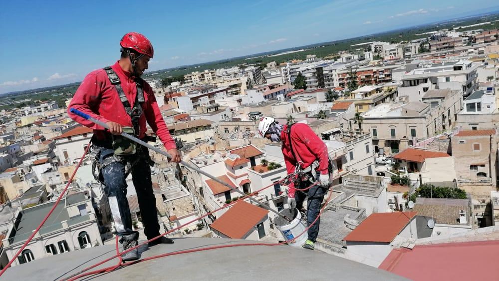 lavori acrobatici cattedrale terlizzi (4)-2