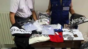 In un tir scoperte seimila paia di scarpe da running contraffatte
