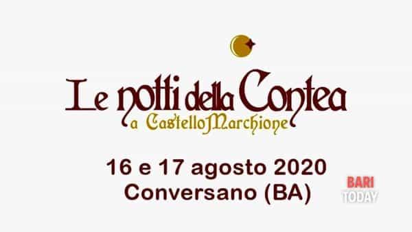 Le notti della contea 2020 a Castello Marchione