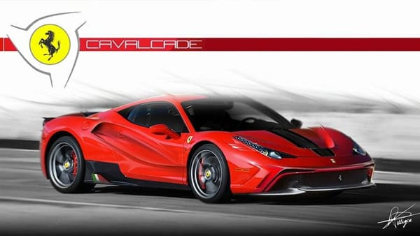 """A Bari la sesta edizione della Ferrari Cavalcade, uno """"spettacolo in viaggio"""" di oltre cento Ferrari"""