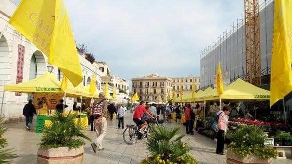 """""""Campagna Amica"""", in piazza del Ferrarese la manifestazione per il consumo di prodotti a Km 0"""
