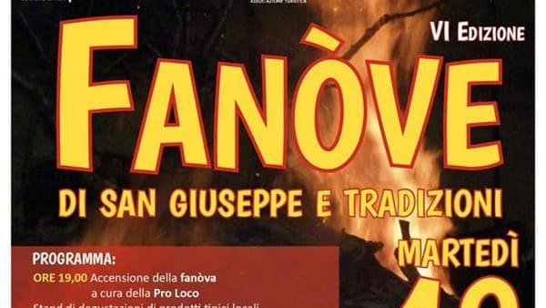 A Turi la Sesta Edizione delle 'Fanove di San Giuseppe e tradizioni'