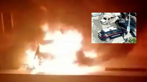 Tragedia sfiorata a Monopoli: donna intrappolata tra le fiamme, carabinieri le salvano la vita in extremis