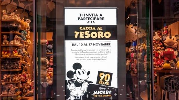 Attività gratuite, balli ispirati a Mickey Mouse e cacce al tesoro al Disney Store di Bari
