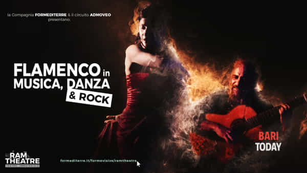 Flamenco in musica, danza & rock in streaming per il progetto Ram Theatre