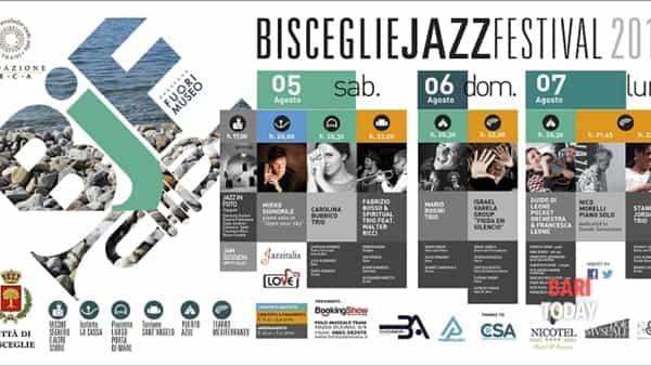"""""""Bisceglie jazz festival"""" dove la città diventa un palcoscenico all'aperto"""