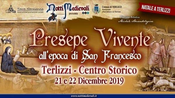 IV edizione del Presepe Vivente all'epoca di San Francesco a Terlizzi