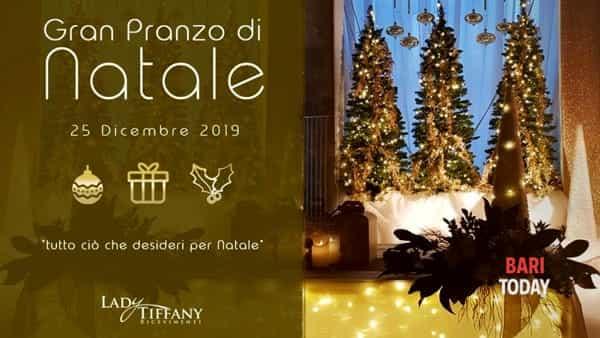Pranzo di Natale in Puglia  presso Lady Tiffany ricevimenti