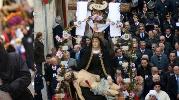 La settimana santa a Ruvo di Puglia