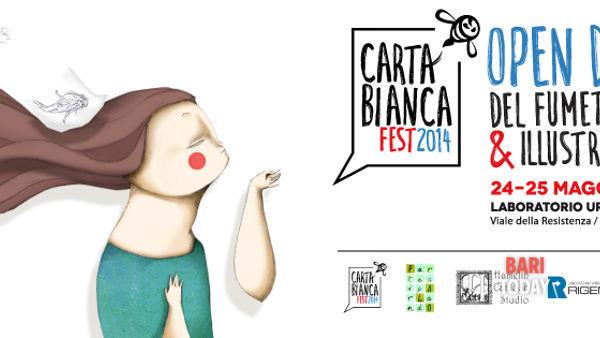 Cartabianca Fest a Palo del Colle. Due giorni all'insegna del fumetto e dell'illustrazione
