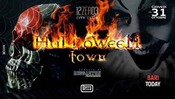 Halloween party al 12.03 City club
