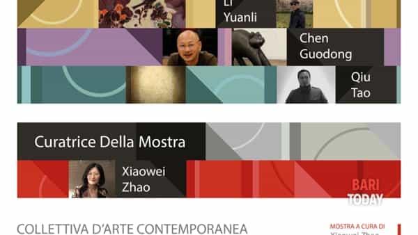 A Santeramo 'Cina: un dialogo con l'arte contemporanea'