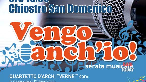 Tra colonne sonore e tanghi argentini, nel Chiostro San Domenico Verne in concerto