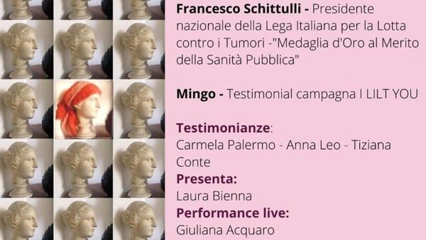 Serata benefica di prevenzione ai tumori con il prof. Schittulli e Mingo