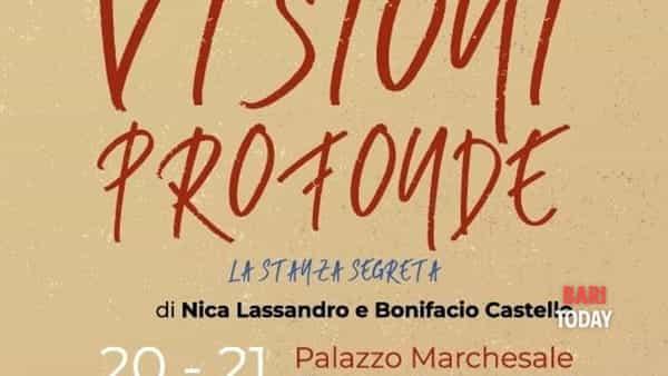Visioni profonde - la stanza segreta:  la mostra di Bonifacio Castello e Nica Lassandro