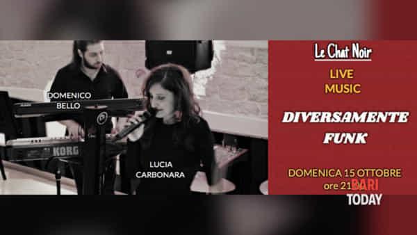 """Diversamente Funk duo live a """"Le chat noir"""""""