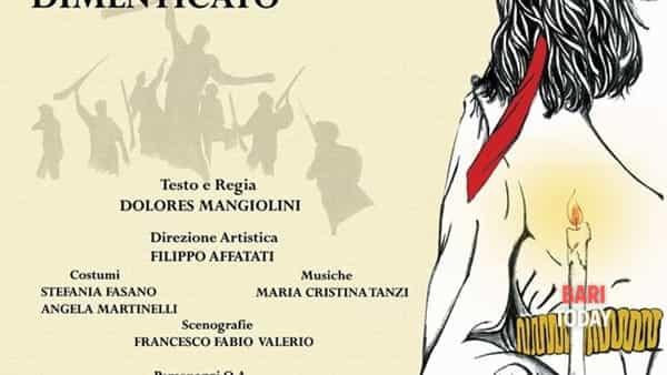 """""""Sergente Romano - Memorie di un sud dimenticato"""" de Le 7 Muse di Apollo al Teatro Angioino (Mola di Bari)"""