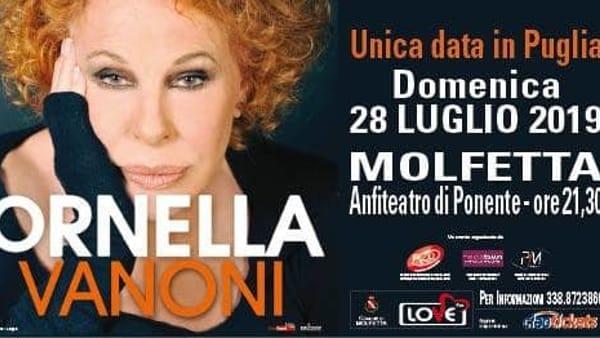 Ornella Vanoni in concerto a Molfetta