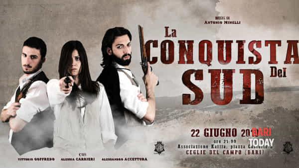 La conquista del sud, il progetto storico-teatrale in scena a Ceglie del Campo