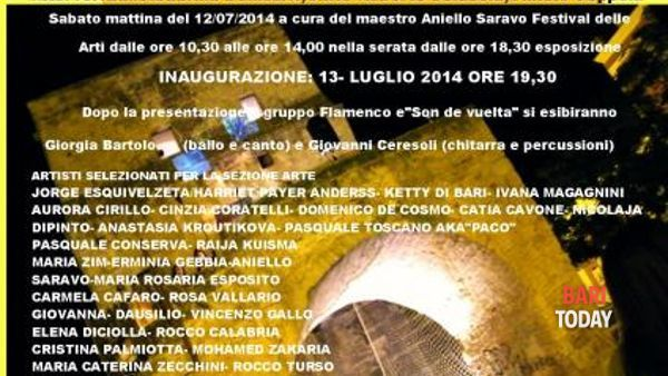 """A Torre a Mare, va in scena la terza edizione del festival """"Globalart International Art"""""""