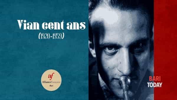 "Mostra ""Vian cent ans (1920 - 1959)"" presso l'Alliance Française di Bari"