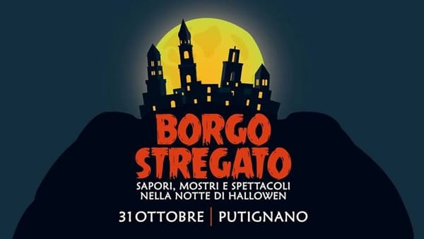 'Borgo stregato', a Putignano sapori, mostri e spettacoli nella notte di Halloween