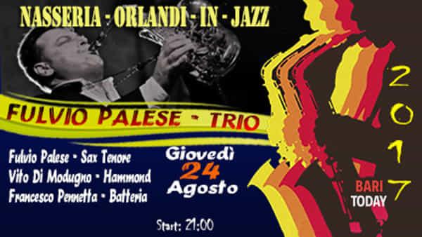 """""""Masseria Orlandi in jazz 2017"""" con il Fulvio Palese Organ trio"""