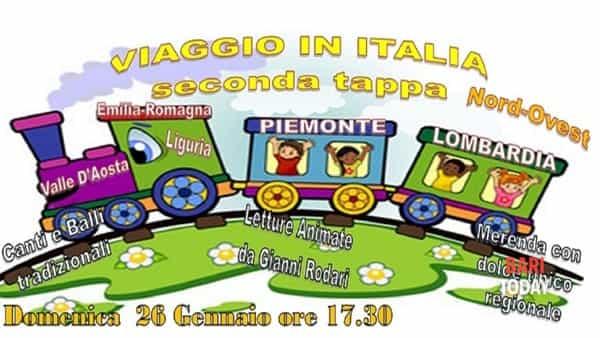 Viaggio in italia. Letture animate, canti, balli, ricette e video