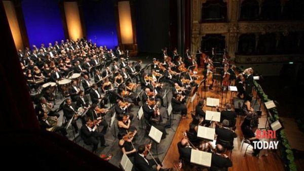 Concerto dell'Orchestra sinfonica metropolitana nella Cattedrale di Bari