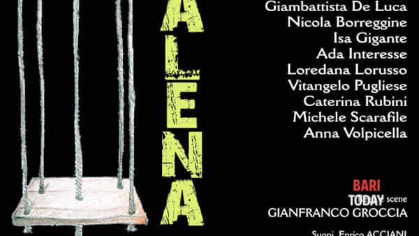 """""""Altalena (la stanza di Pinocchio)'  tratto da Pinocchio di Carlo Collodi in scena al Teatro Angioino"""