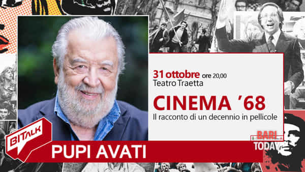 Bitalk - cinema '68, il talk con Pupi Avati
