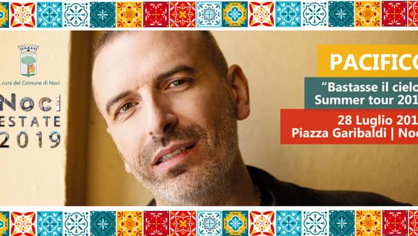 """Pacifico in concerto a Noci con il suo """"Bastasse il cielo Summer Tour 2019"""""""