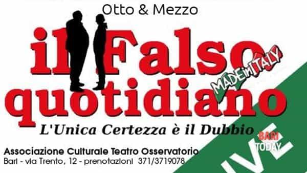 """""""Il faso quotidiano - live"""" i cabaret di Otto e mezzo"""