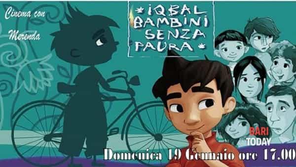 'Iqbal, bambini senza paura' per il cinema con merenda