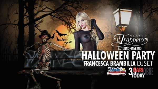 Halloween party al Trappeto di Monopoli