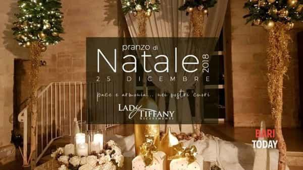 Pranzo di Natale presso Lady Tiffany ricevimenti