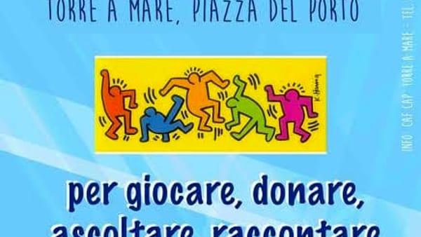 """""""Vivilapiazza"""": a Torre a Mare iniziative sociali, educative, ludiche e culturali"""
