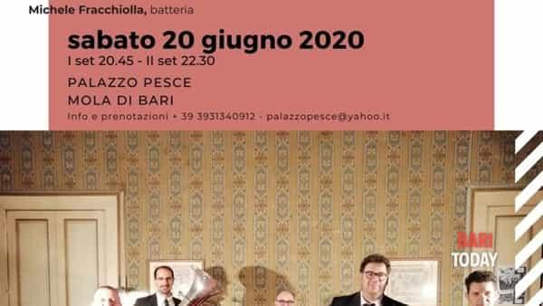 Promenade Bechet - Jazz 5et a palazzo Pesce