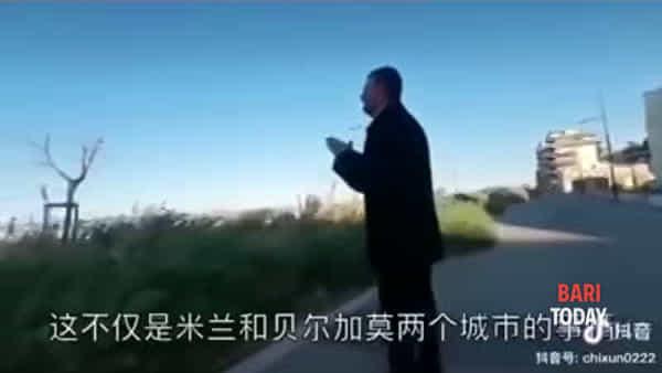 I video dei blitz 'anti assembramento' di Decaro conquistano i social cinesi: filmati anche nella tv spagnola (con i sottotitoli)
