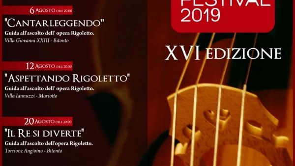 """""""Rigoletto"""" protagonista del Bitonto Opera Festival 2019"""