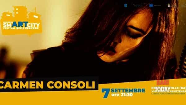 Carmen Consoli a Palo del Colle nel Rigenera Smart City per il festival delle periferie
