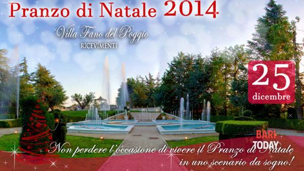 La magia del Natale con Villa Fano del Poggio: tutti gli eventi di fine anno