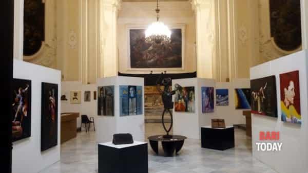Artisti in mostra a Santa Teresa dei Maschi, galleria/laboratorio permanente
