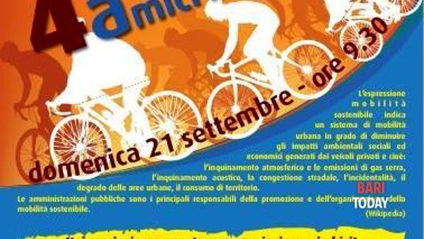 """""""4 amici in bici"""", una pedalata nella settimana della mobilità sostenibile"""