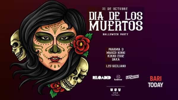 Dia de los muertos - Halloween party all'Una Hotel Regina di Bari