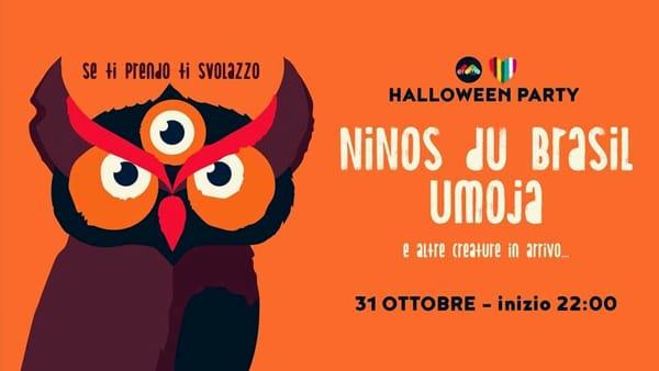 Halloween con Ninos Du Brasil, Umoja e altre creature all'Eremo Club di Molfetta