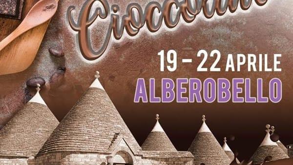 Mastri Cioccolatieri di tutta Italia ad Alberobello per il ''Festival del Cioccolato''