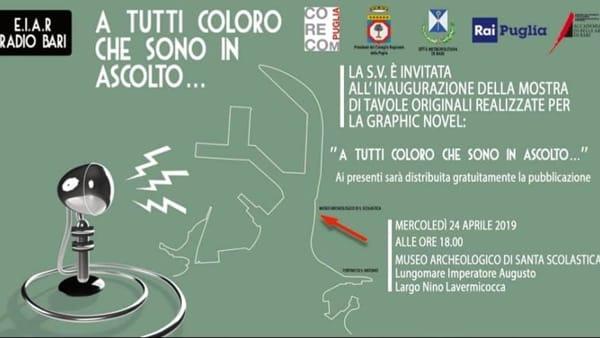 NelMuseo Archeologico di Bari la mostra dedicata alla storia diRadio Bari
